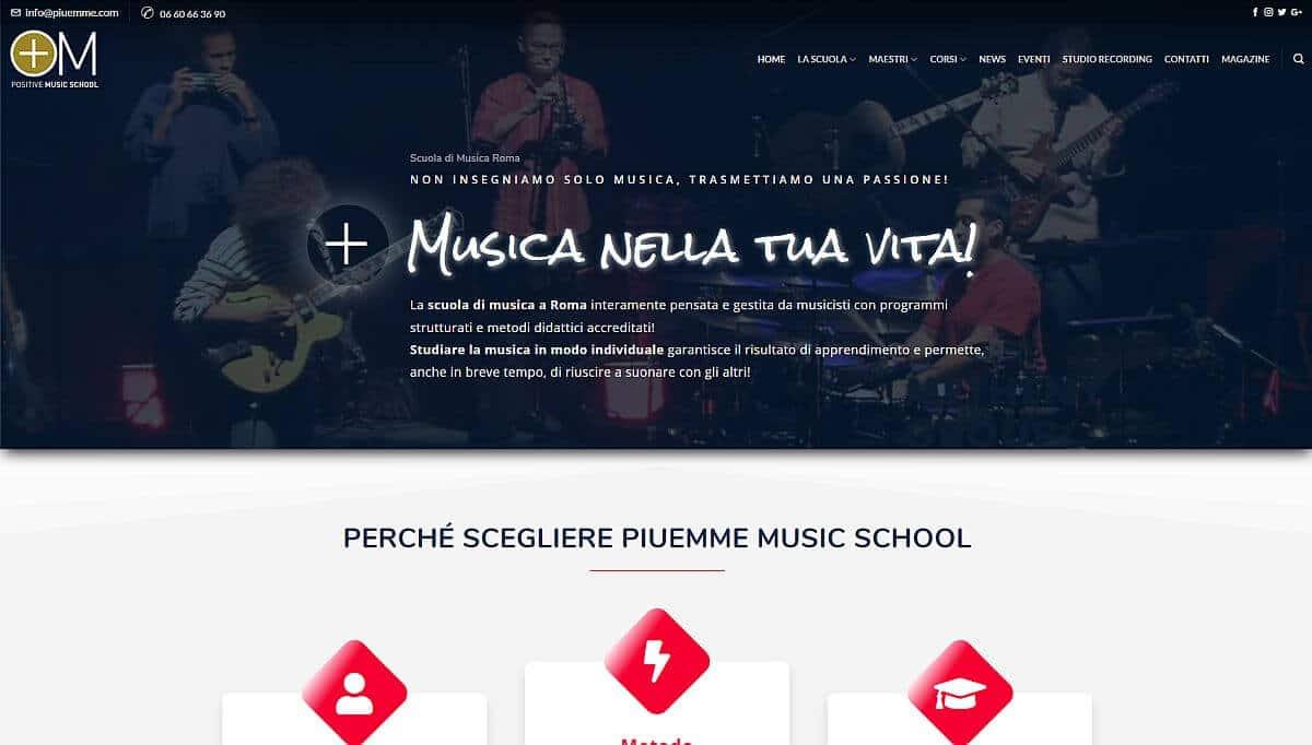 WonderSite - PiuEmme scuola di musica Roma