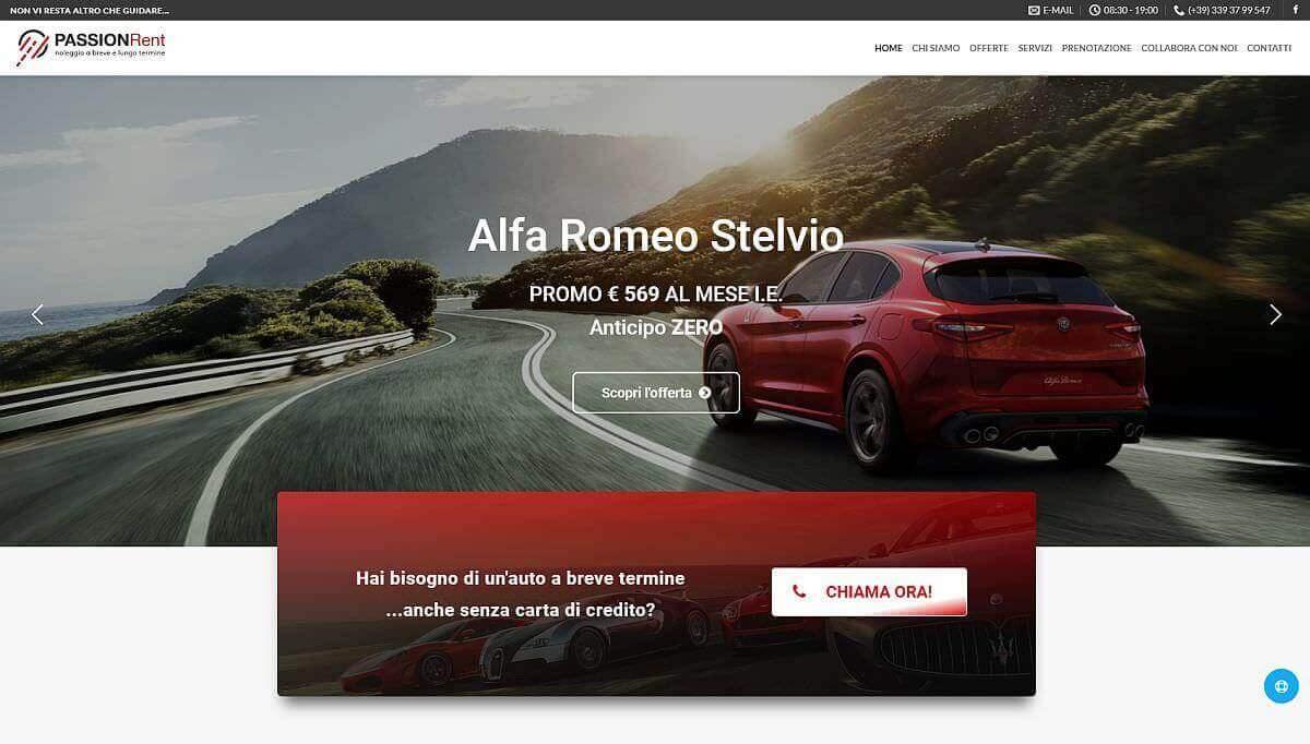 Passion Rent Noleggio auto Aprilia