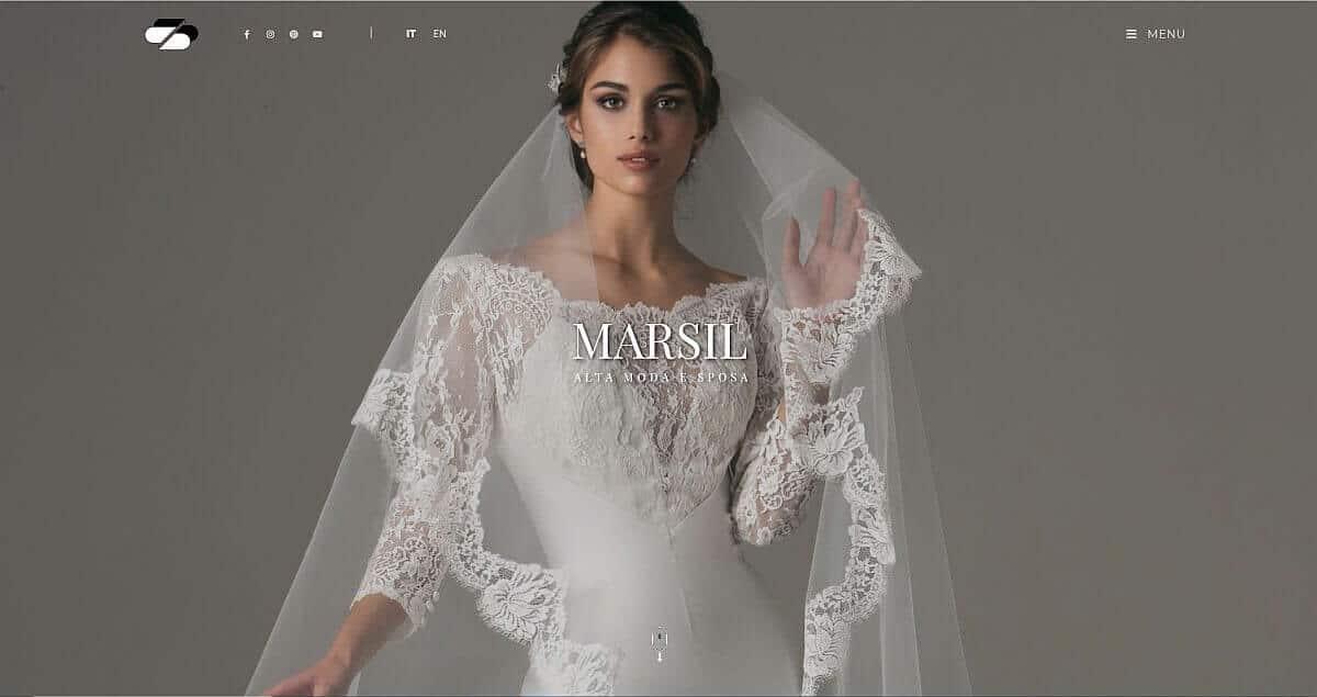 Marsil Moda abiti da sposa Roma